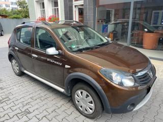 Dacia Sandero 1,6i Stepway,73tis.km!!,závěs hatchback