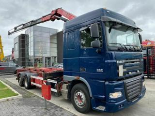 DAF XF105460 HNK+HR6x2 pro přepravu kontejnerů