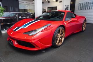 Ferrari 458 4,5 Speciale / Rosso Corsa / SKLADEM  IHNED kupé benzin