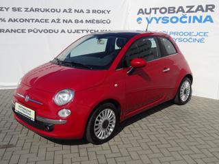 Fiat 500 1.2i Lounge! Panorama! hatchback