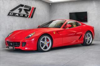 Ferrari 599 GTB Fiorano, karbon paket, Daytona kupé benzin