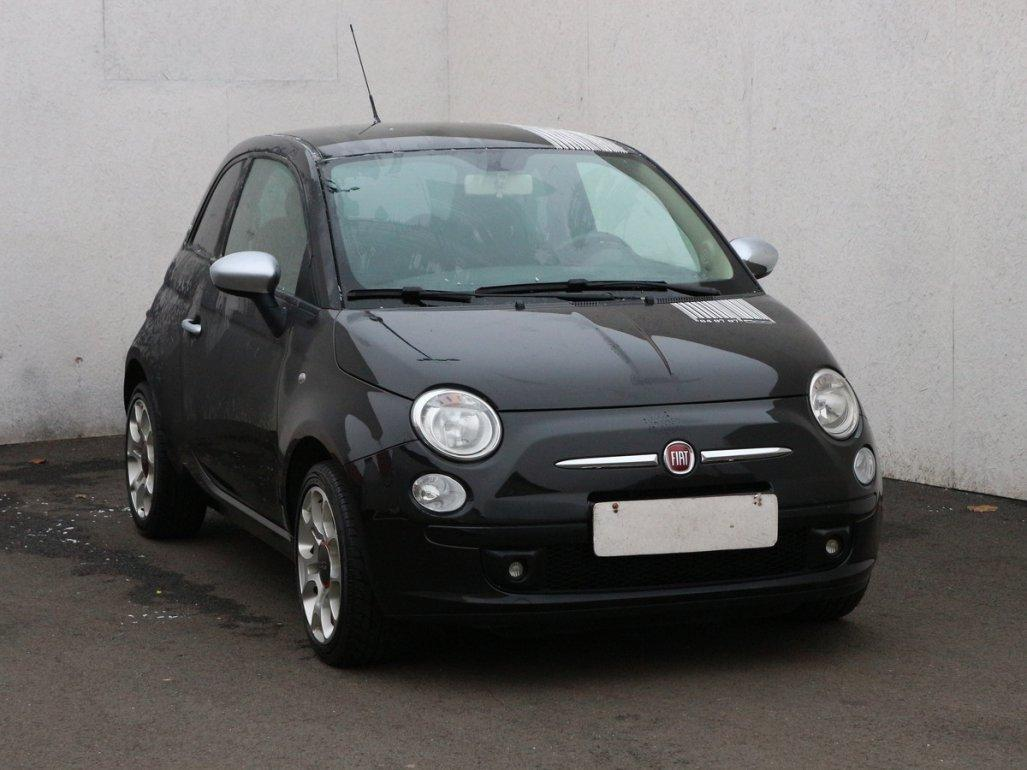 Fiat 500 1.4 16V, Serv.kniha kabriolet benzin
