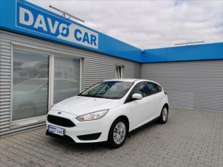 Ford Focus 1,6 77kW, CZ Servisní kniha hatchback benzin
