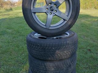 Ostatní 235/55 R17 zimní sada Alu + pneu