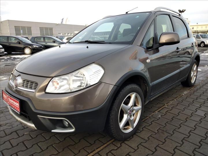 Fiat Sedici 1,6 i 4WD 88kW * KLIMATIZACE* hatchback benzin