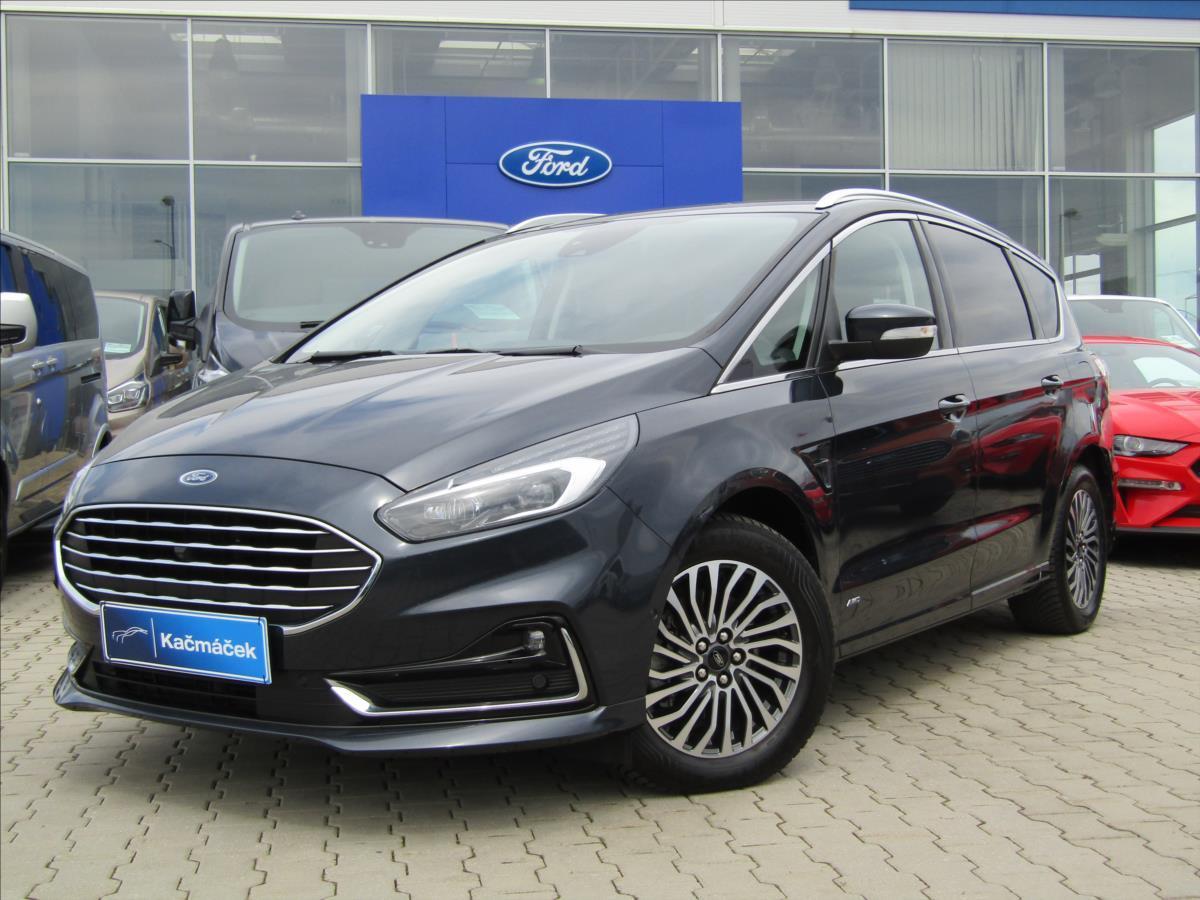 Ford S-MAX 2,0 Ecoblue,140kw,Titanium,AWD MPV nafta