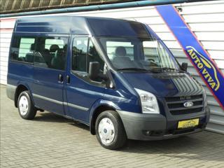 Ford Transit 2,2 TDCi 9 míst,AC,Tažné,Temp. minibus nafta