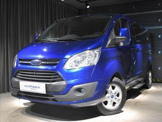Ford Tourneo Custom 2,0 125kw MT 8míst Tažné Kamera MPV nafta
