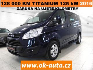 Ford Tourneo Custom 2.0TDCI TITANIUM 125 kW 8 MÍST minibus