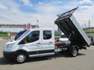 Ford Transit 2.0 TDCi 3 stanný sklápěč ČR 1.maj sklápěč