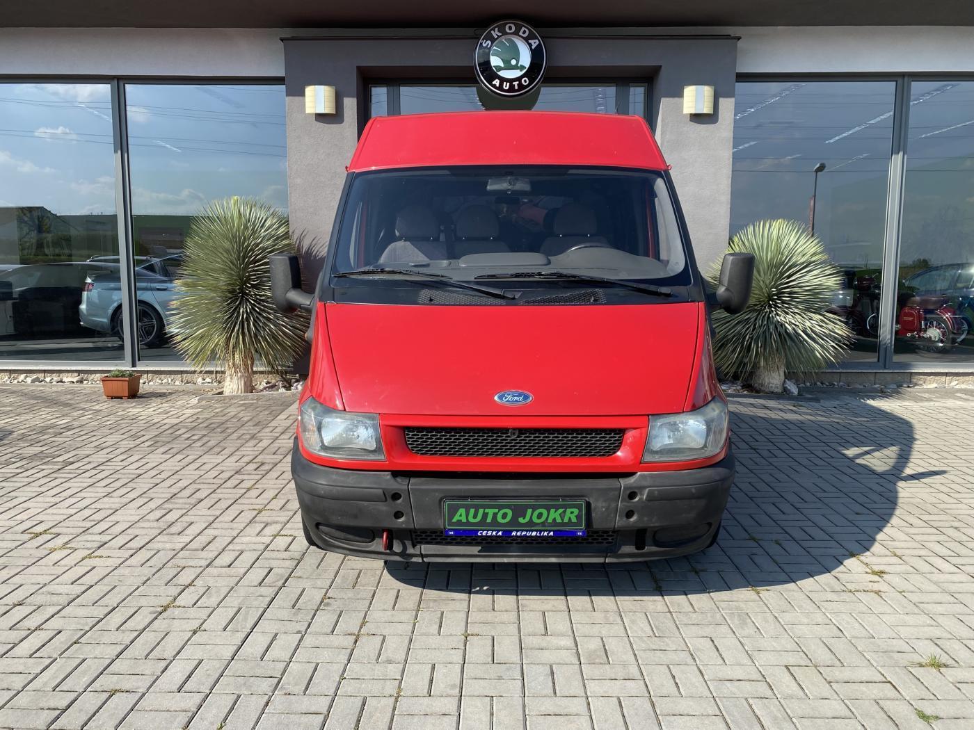 Ford Transit 6 MÍST 260 2.0 TDDi TOP STAV ČR skříň