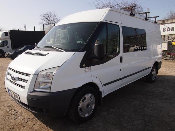 Ford Transit 2.2TDCi,6míst,L3H2,nové v CR,klima užitkové