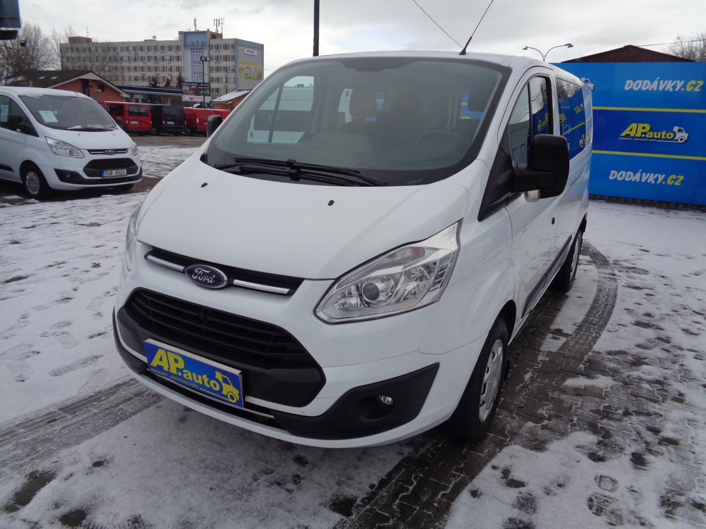 Ford Transit Custom L1H1 6 MÍST KLIMA SERVISKA užitkové