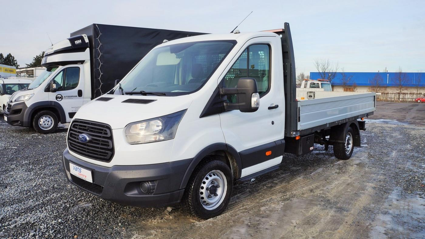 Ford Transit 96kw valník 3,6m/ČR/1.majitel valník