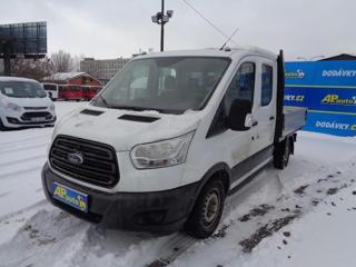 Ford Transit DVOJKABINA 7MÍST VALNÍK  KLIMA SERV valník