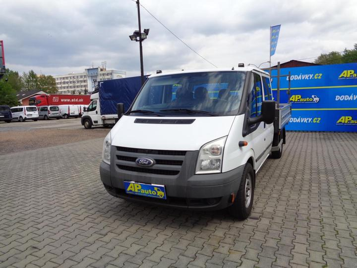 Ford Transit DVOJKABINA VALNÍK  2.4TDCI SERVISKA valník