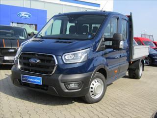 Ford Transit 2,0 EcoBlue MHEV L3 350 Kůže valník nafta