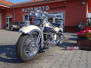 Harley-Davidson WL 750 chopper