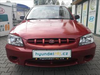 Hyundai Accent 1,3 STŘEŠNÍ OKNO, 1.MAJ. v rod hatchback benzin