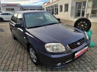 Hyundai Accent 1,3i 63kW ČR, KLIMA sedan benzin
