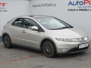 Honda Civic 1,8 i ČR, KLIMA, SERVIS hatchback benzin