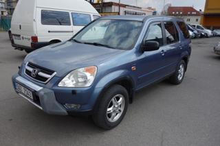 Honda CR-V 2,0i 110kW ČR ! Serv.kn!2xkola! SUV