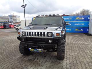 Hummer H2 6.0L V8 5 MÍST KLIMATRONIC terénní
