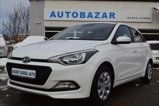 Hyundai i20 1,2 i  1.MAJ, ČR, FAMILY+ CLUB hatchback benzin