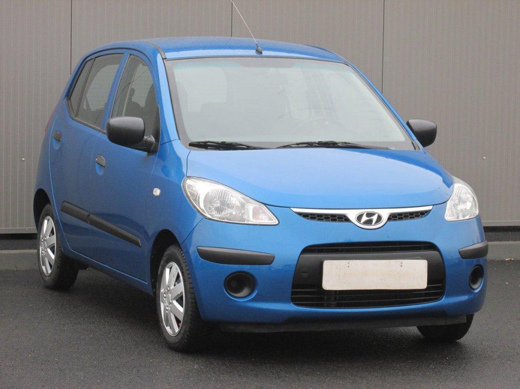 Hyundai i10 1.1 i, Serv.kniha hatchback benzin