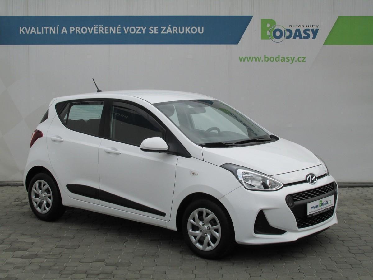 Hyundai i10 1,0 Family+ Club KLIMA koup.ČR hatchback benzin