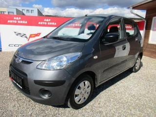 Hyundai i10 1,0i KLIMA EL.OKNA SERVO hatchback benzin