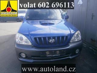 Hyundai Terracan VOLAT 602 696 113  nafta