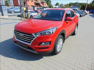 Hyundai Tucson 1,6 T-GDi 130 kW DCT NAVI, ČR,1.MAJITEL  benzin