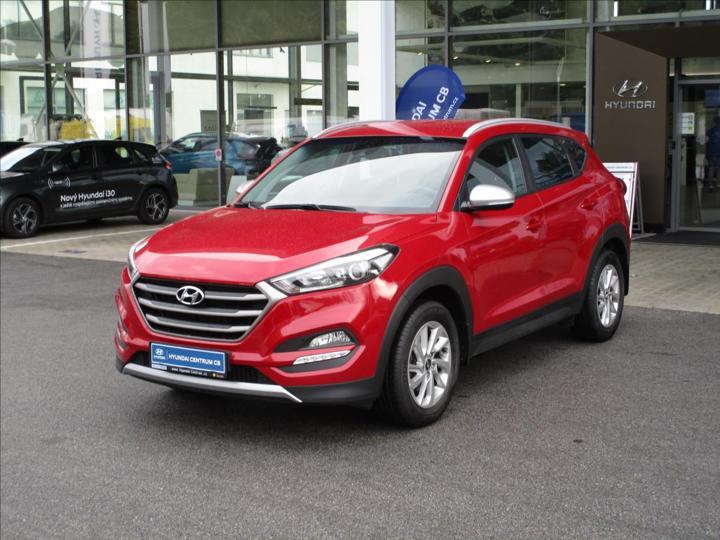 Hyundai Tucson 1,6 T-GDI, 1.majitel, záruka, NAVI  Best of Czech SUV benzin