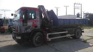 Iveco EUROCARGO ML190EL30 JNK + HR EURO 5 pro přepravu kontejnerů