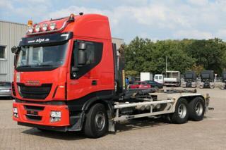 Iveco AS260S500 6x4 HNK pro přepravu kontejnerů