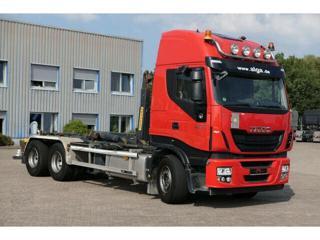 Iveco AS60S500 6x4 HNK pro přepravu kontejnerů