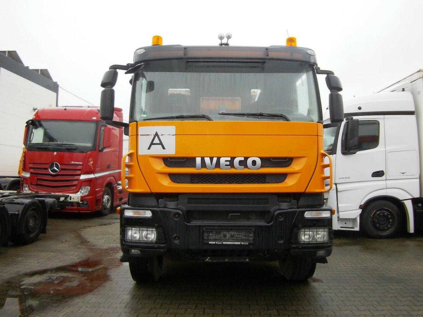 Iveco Trakker 450 EEV1 8x4, S3 Bordmatik sklápěč