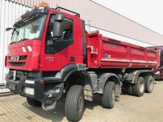 Iveco Trakker AD410T45W 8x8, S3, Bordmati sklápěč