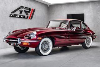 Jaguar E-Type V6 4.2 serie II, 2+2, Heritage trust certifikát  OV,RU kupé benzin