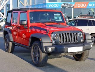 Jeep Wrangler 2.8 CRD 147kW terénní nafta