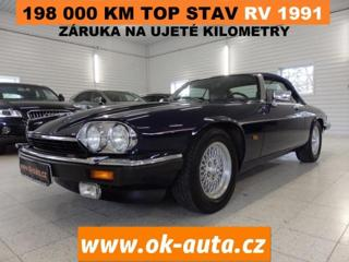 Jaguar XJS 12V KABRIOLET TOP STAV 1991 kabriolet benzin