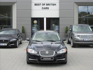 Jaguar XF 3,0 d V6, 155kW,2.Maj,ČR,AT sedan nafta