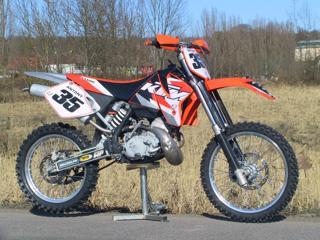 KTM enduro sportovní