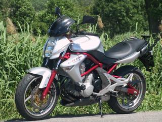 Kawasaki 2006, 650 ccm, 53 kW nakedbike