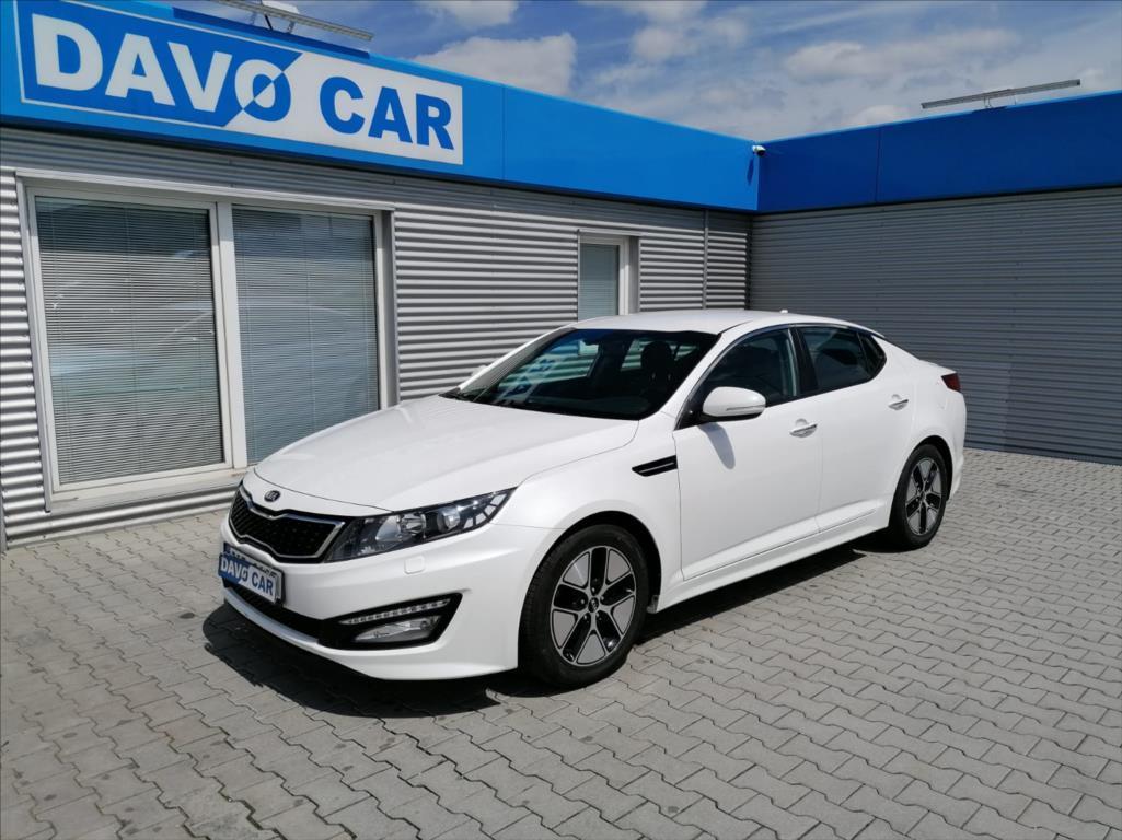 Kia Optima 2,0 CVVT Hybrid CZ Serv. kniha sedan hybridní - benzin