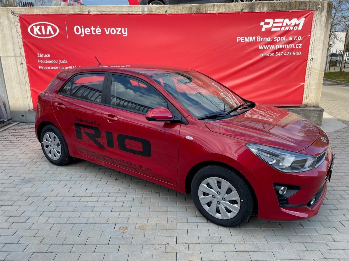 Kia Rio 1,2 CVVT COMFORT  PŘEDVÁDĚCÍ hatchback benzin