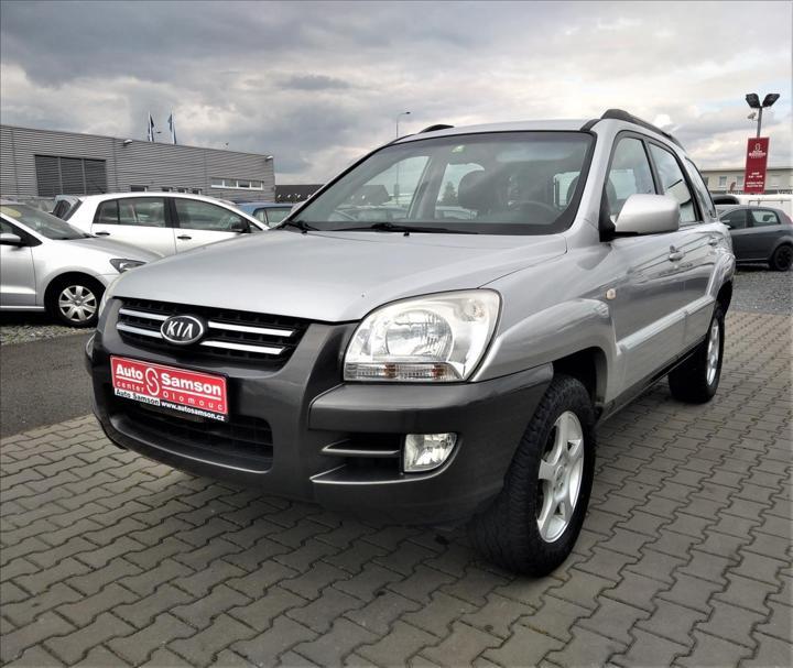 Kia Sportage 2,0 16V 2WD EX *GPS NAVI * kombi benzin