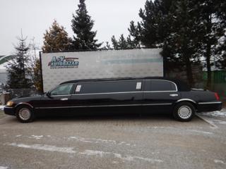 Lincoln Town Car 4.6 L, 160 kW, AUT, 9 MÍST limuzína benzin