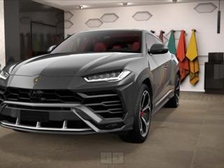 "Lamborghini Urus 4,0 Grigio Keres/23""/Pano/Black Gloss Style  IHNED SUV benzin"